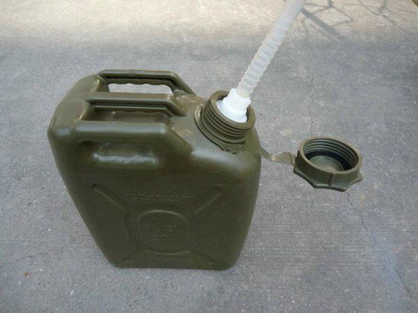 Askeri Yakıt Bidonları